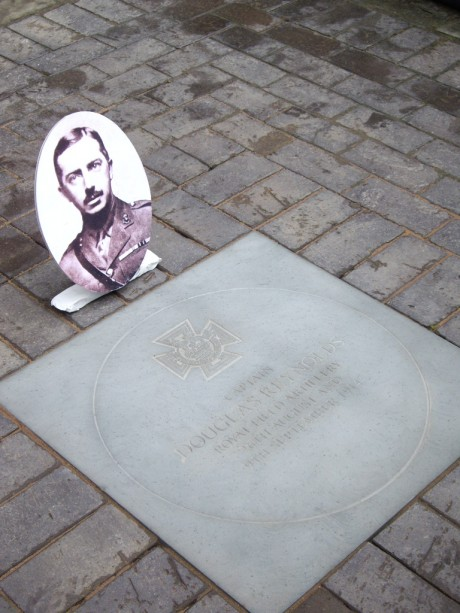 Paving stone for Douglas Reynolds